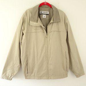 🌵 Men's Columbia Lightweight Jacket Full Zip Large